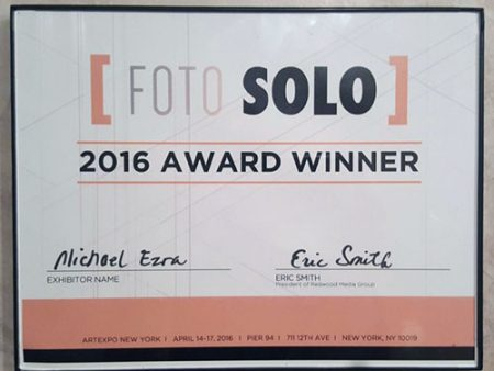 ArtExpo, New York 2016 - Foto Solo Award Winner
